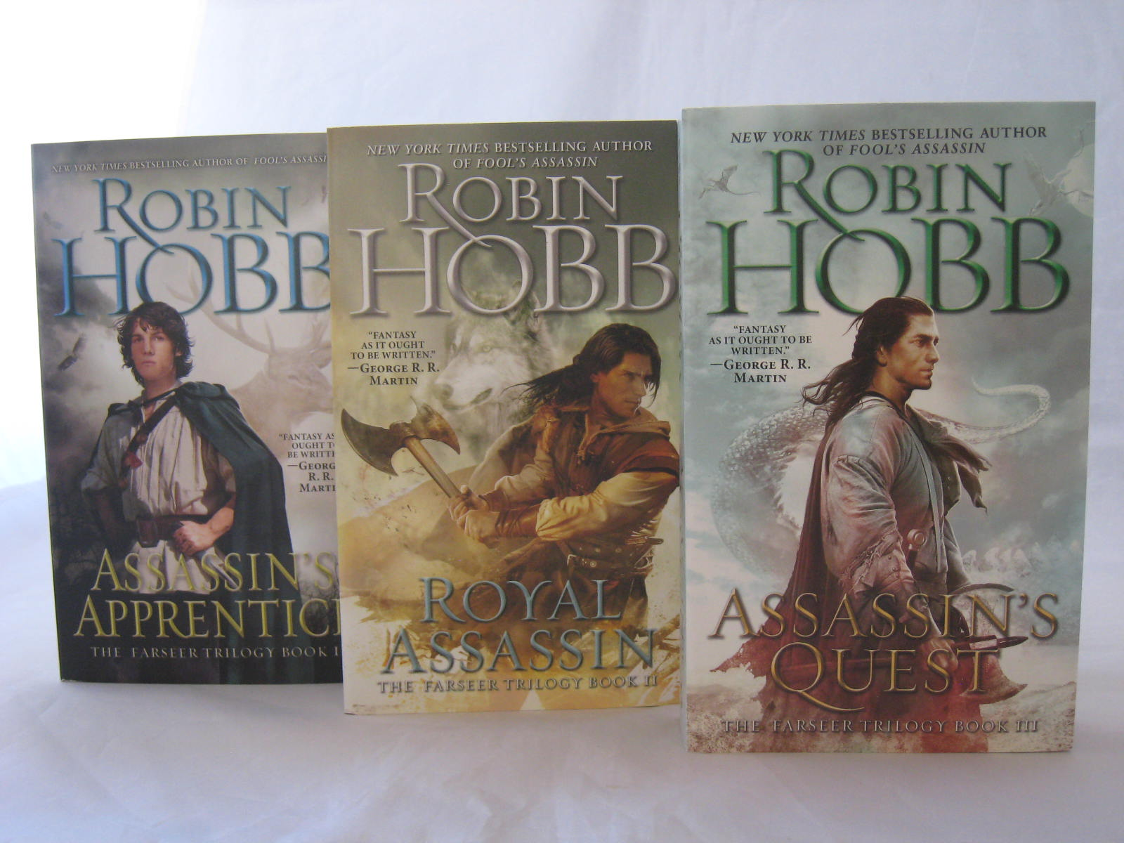 The Farseer Trilogy by Robin Hobb