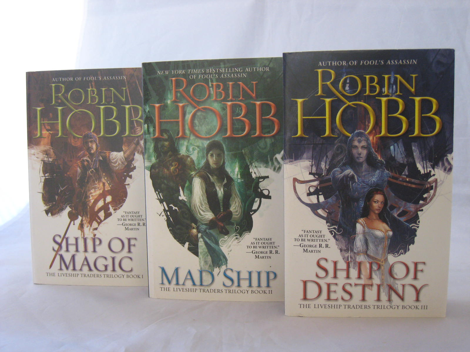 The Liveship Traders Trilogy by Robin Hobb