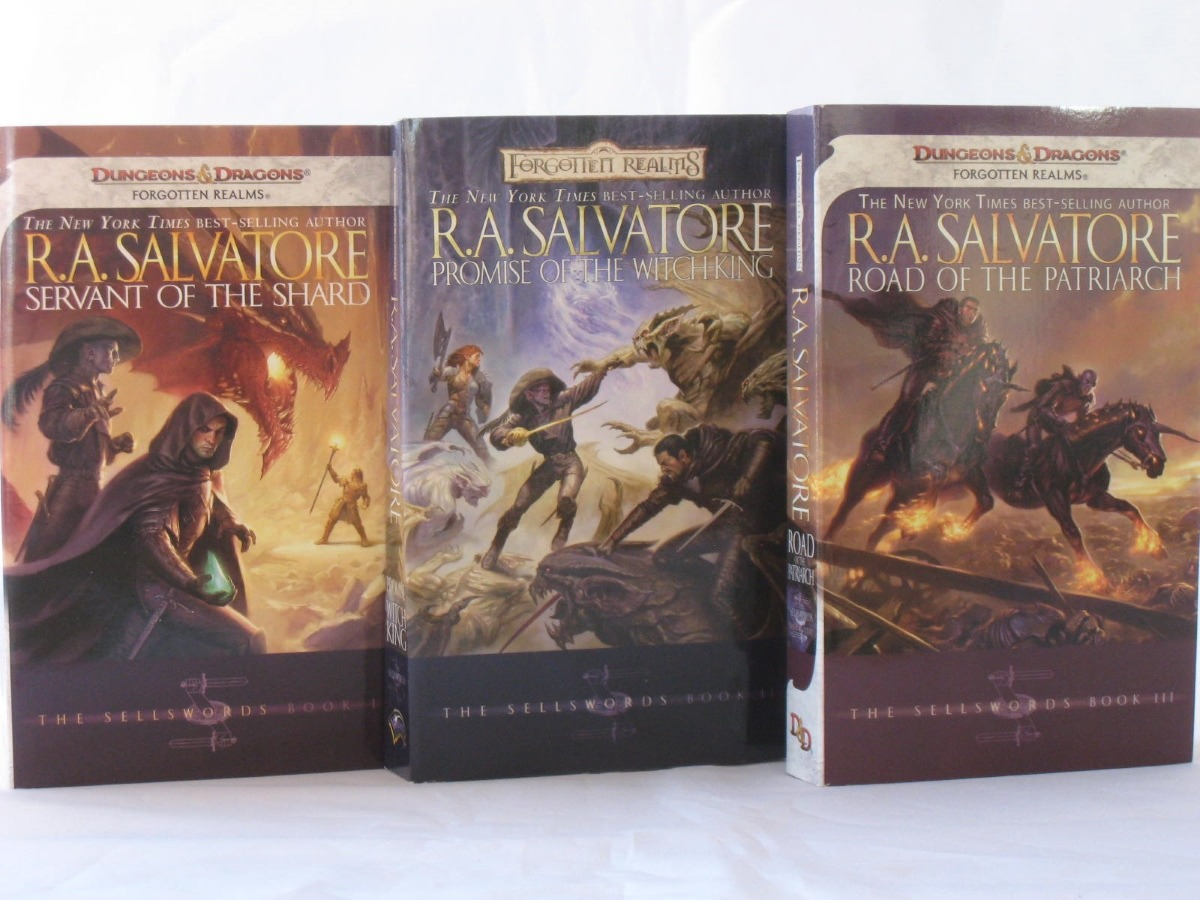 The Sellswords Trilogy by R.A. Salvaltore