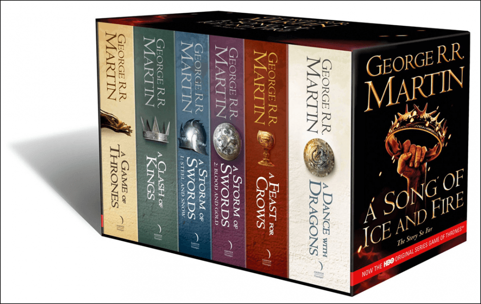 A Song of Ice and Fire by George R.R. Martin